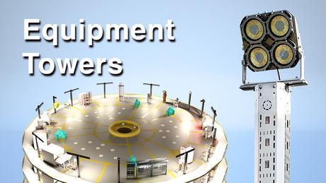 Equipment tower