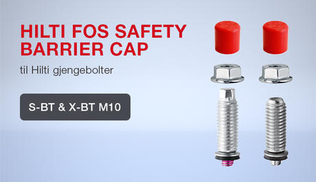 Hilti FOS Safety Barrier Cap