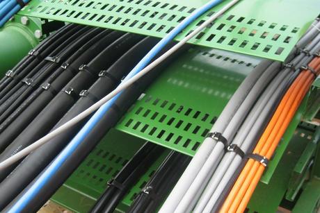 Kabler stripset til kabelloop