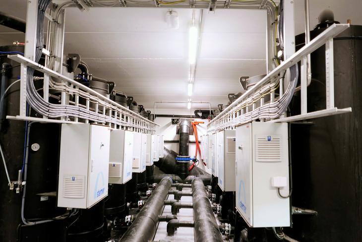 FRP installation at Bremnes Seashore Trovåg