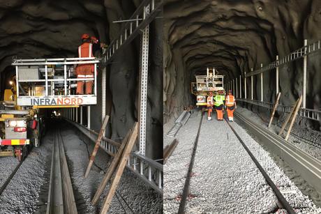 Infranord er entreprenør på Henriksdalstunnelen prosjektet for SL.