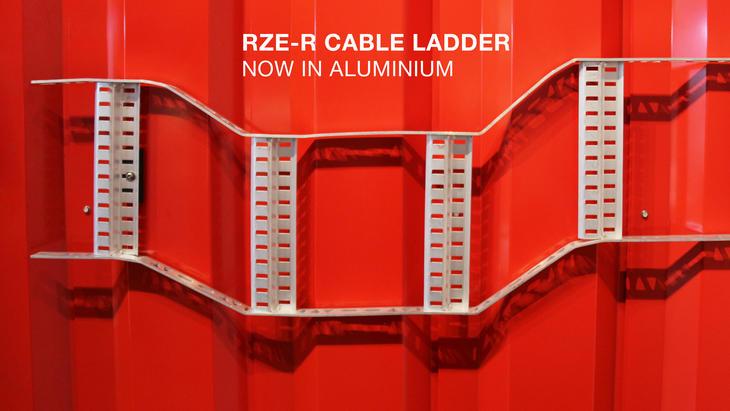 Ny aluminiumsversjon av vår velkjente kabelstige for skip.