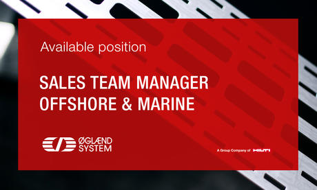 Available position - Sales team manager